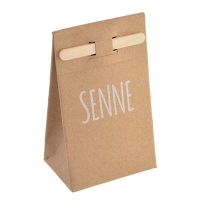 Kartonnen tasje met stokje - Suikerdraakje - Doopsuiker en Geboortekaartjes