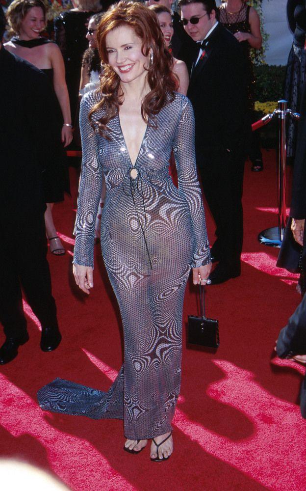 Geena Davis Fashion Model