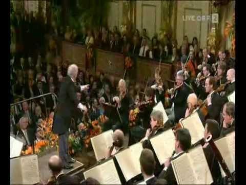 waiting for 2014 vid - J Strauss Freikugeln Polka Schnell  Neujahrskonzert 2009, Wiener Philharmoniker - Daniel Barenboim