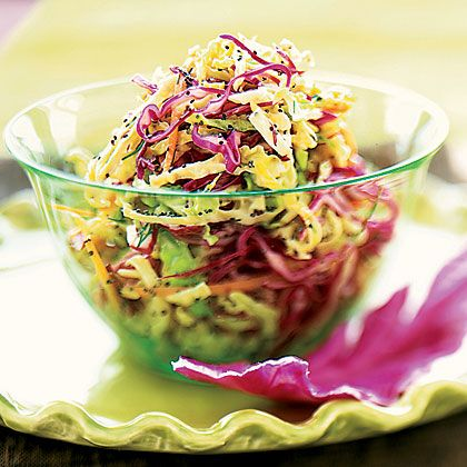 Confetti Slaw with Poppy-Seed Dressing Recipe - Health.com