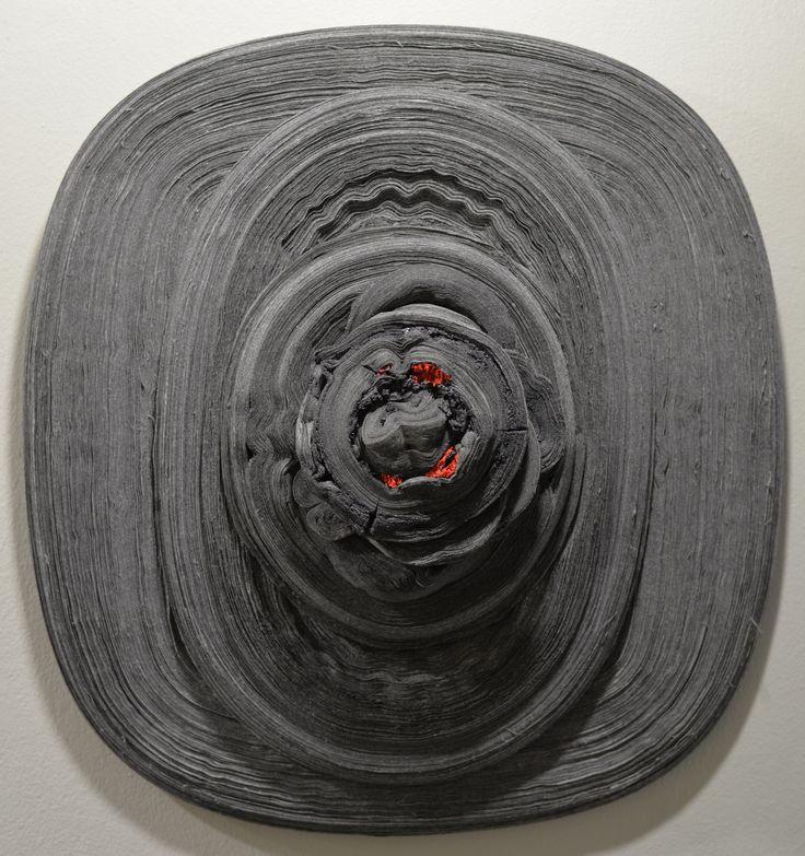 Özcan UZKUR, Ateş-i Meşk Serisi, 2012 (80cm), Karışık Teknik