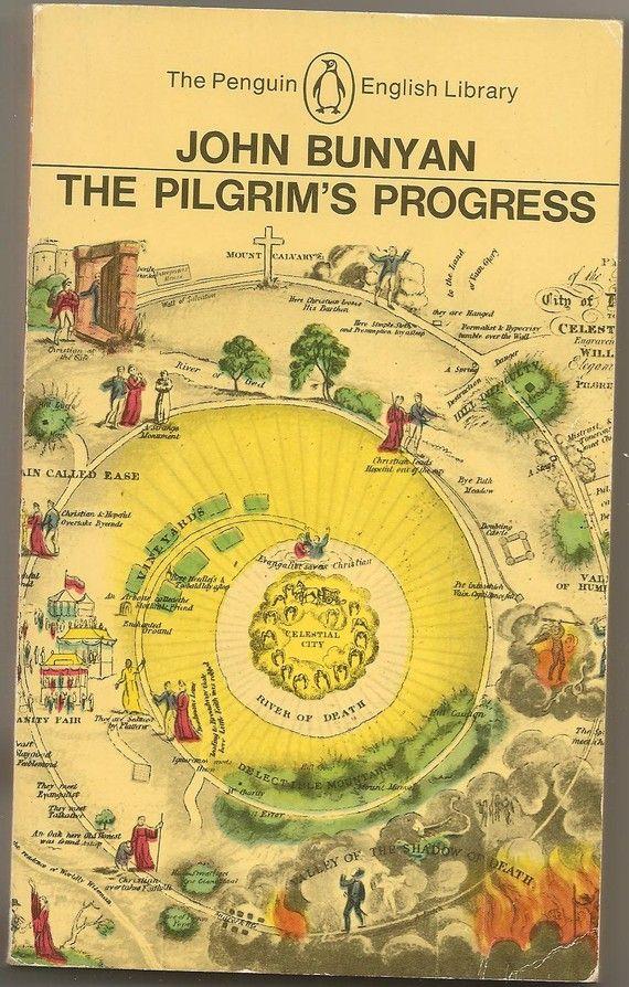 The Pilgrims Progress by John Bunyan by VintageBookBoutique, $4.36