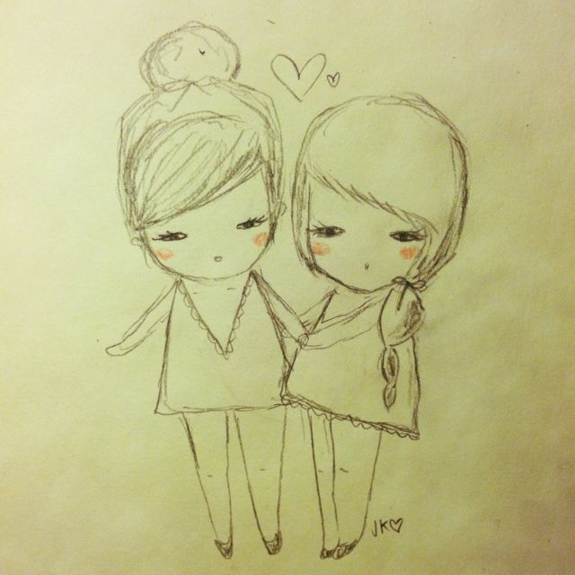 9 Best Images About Best Friend Drawings On Pinterest