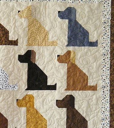 Image result for Dog Quilt Patterns Free Printable Quilting Best Dog Quilt Patterns