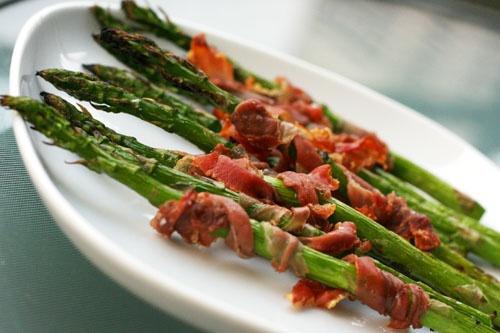 Prosciutto-wrappedAsparagus