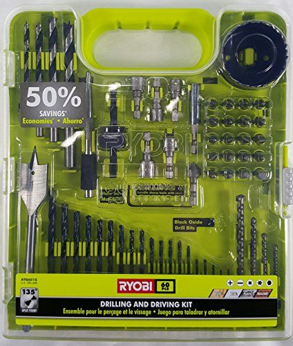 Ryobi Drill Bit Set 60 Piece Ryobi…