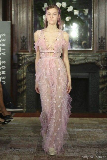 6f3817848 MIra los vestidos de fiesta largos que encontraras en la colección  primavera verano 2019 de Marcelo