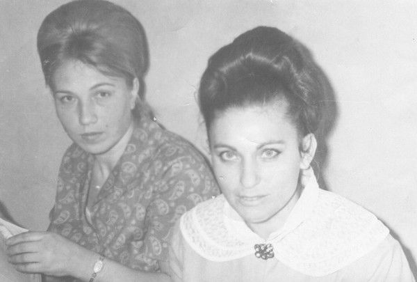 Gala Avkaeva (My Mother) and her friend Lyubov Baygot