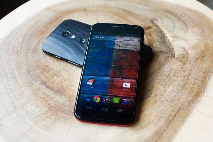 The MotoX - the newest Android phone from Google's Motorola