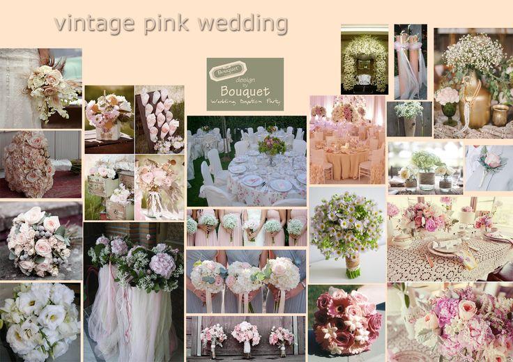 Vintage pink wedding inspiration