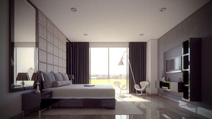 Habitación - Recámara - Bedrooms - Rooms - EVA3D