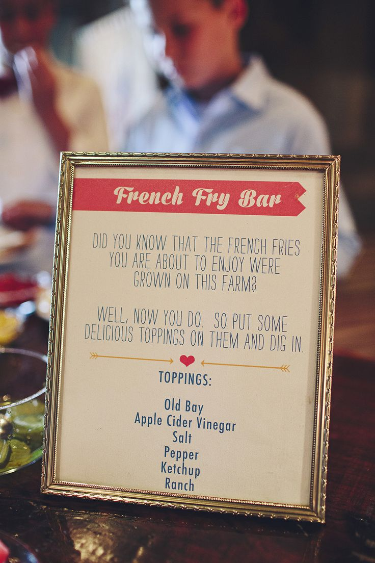 78 Best Images About French Fry Bar On Pinterest