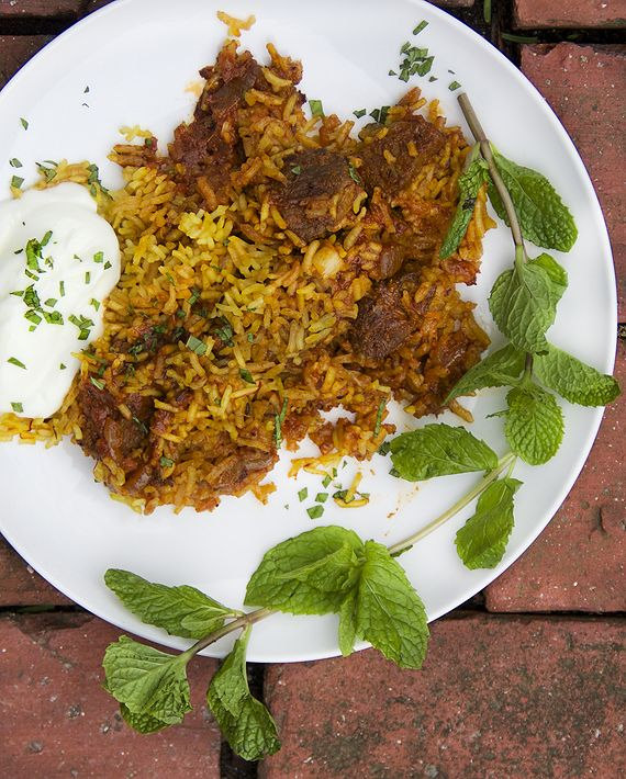 Indian Lamb Biryani  -  when you want to cook something special!