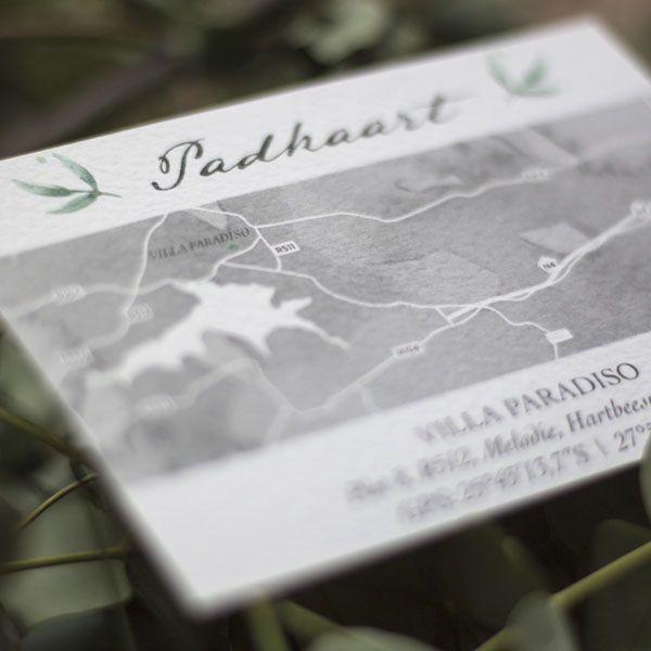 Wedding Invitation Map - Nifty Studio