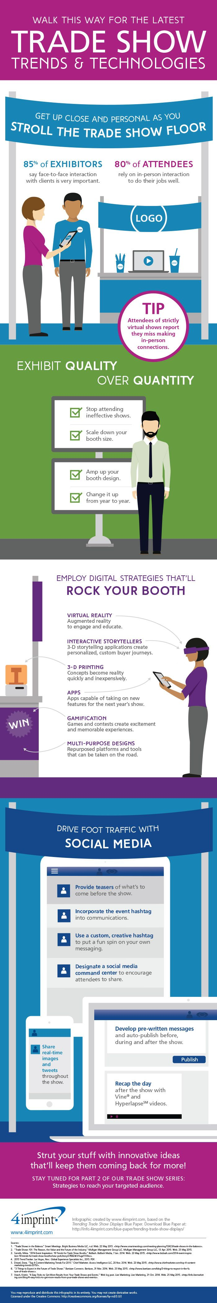 We have everything you need to outfit your tradeshow booth!