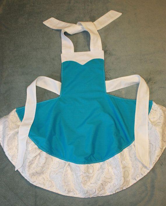 Frozen's Queen Elsa Apron Costume by runningoutamoonlight on Etsy, $20.00