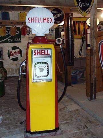 Old style fuel pumps - Motor Fuel