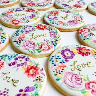 These beautiful florals.   18 Insanely Clever And Beautifully Decorated Cookies