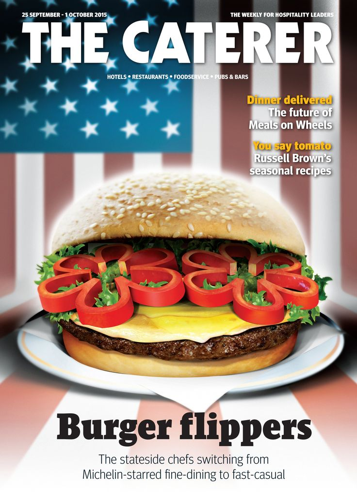 Burger flippers: The stateside chefs switching from Michelin-starred fine-dining to fast casual. To subscribe go to www.thecaterer.com.
