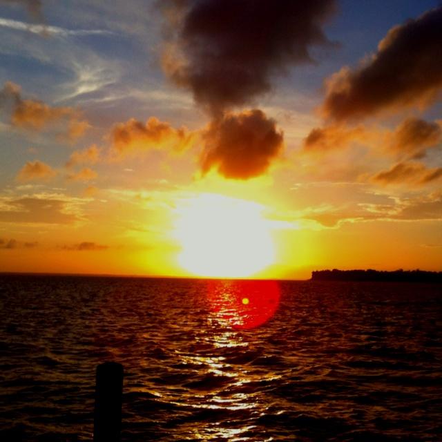 sunset image at Camp Seafarer in Arapahoe, North Carolina