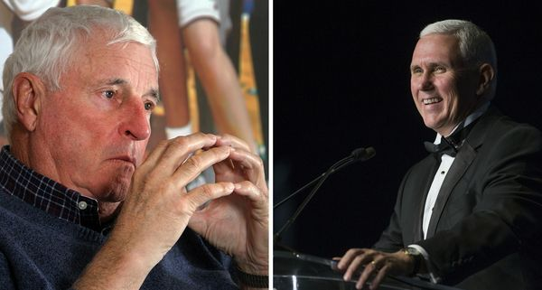 It's a who's-who of famous Hoosiers! David Letterman makes the most Indiana joke ever about Bob Knight and Mike Pence | Indy Star