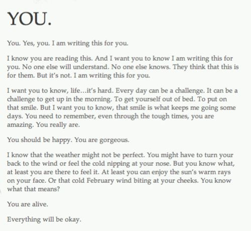 I need to rewrite this in my own handwriting so I can re-read this daily!