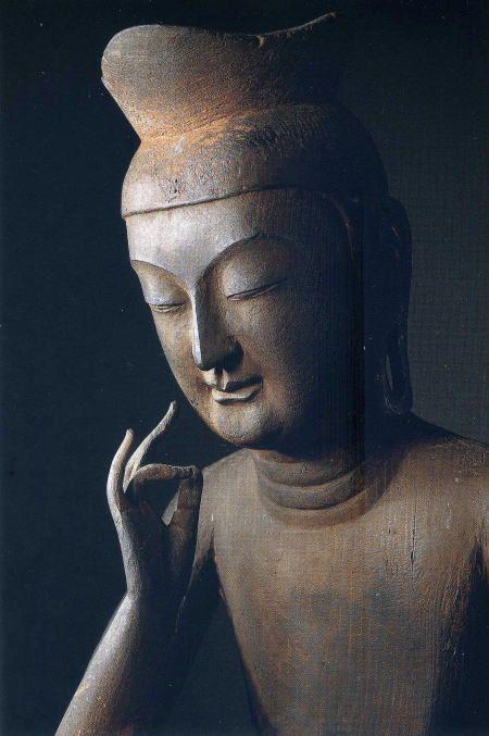 広隆寺 弥勒菩薩半跏思惟像