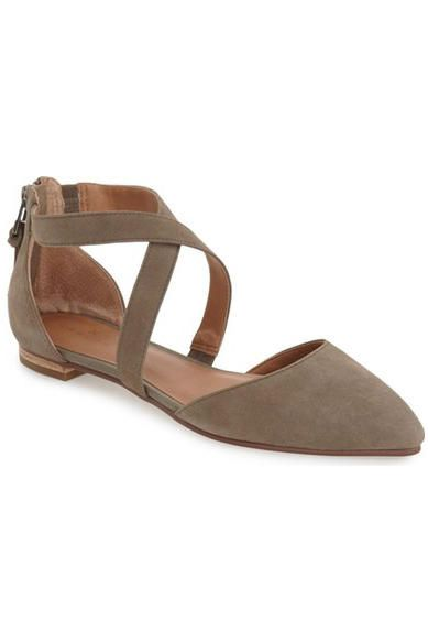 Our Favorite Fall Flats: Cross-Strap D'orsay