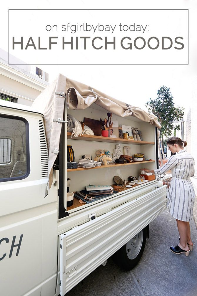 """HALF HITCH GOODS, San Francisco, USA, """"Featuring one of the coolest concept shops rolling around town these days"""", pinned by Ton van der Veer"""