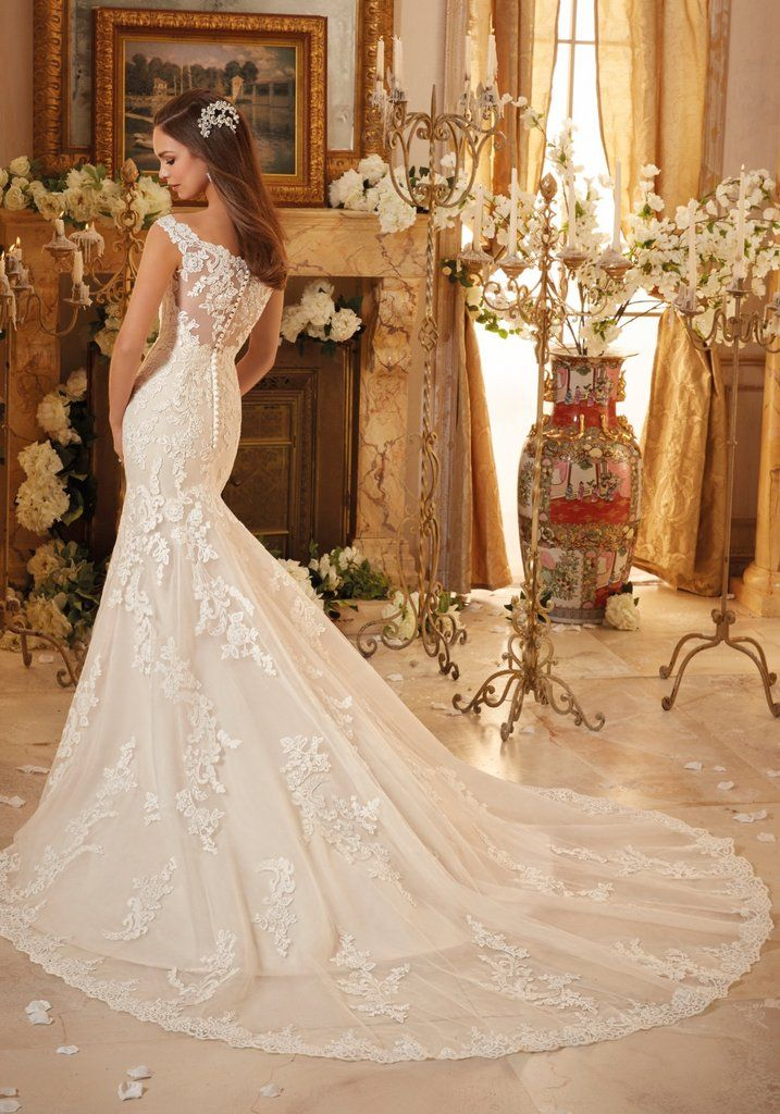 5e34dd83 JAILEN 2019 brudekjole | May | Bridal wedding dresses, Mori lee ...