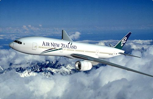 Air NZ - a great way to fly!