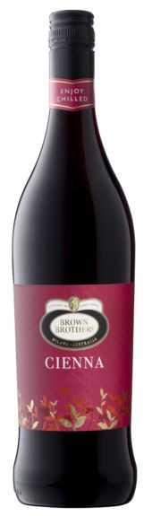 Bottle of Brown Brothers' Cienna