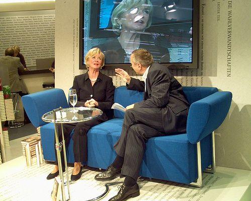 Liz Mohn im Gespräch mit Klaus Urban
