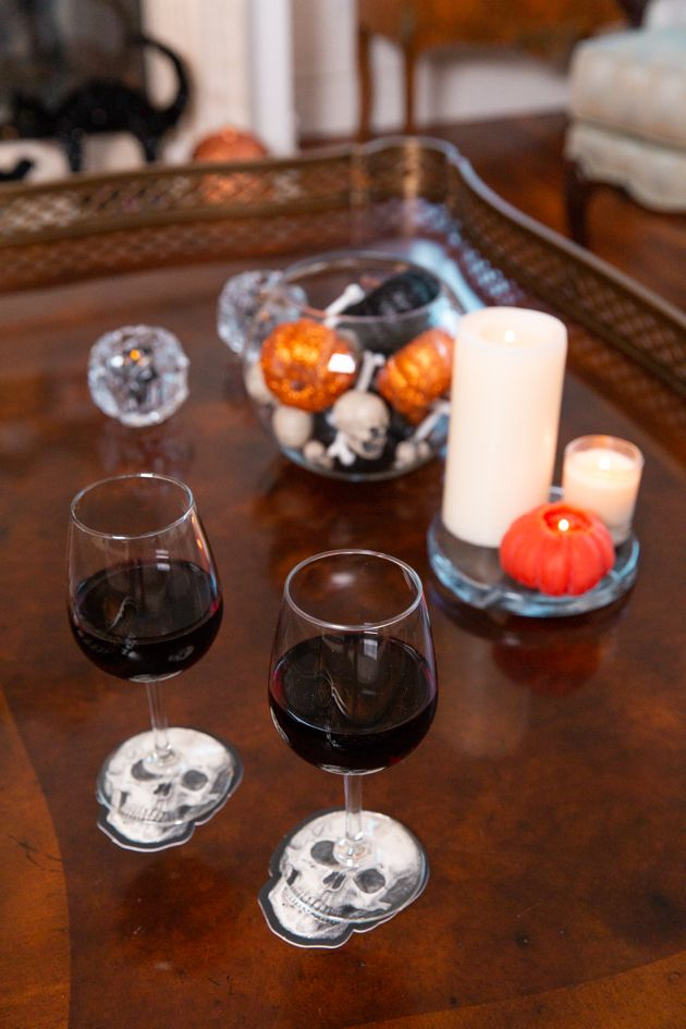 Sophisticated Halloween Dinner Party.Halloween Decor Inspiration How To Haunt The Halls On A