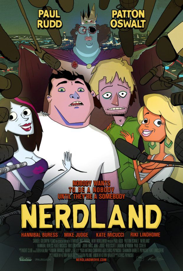 Nerdland – Watch the trailer for Paul Rudd & Patton Oswalt's animated film here