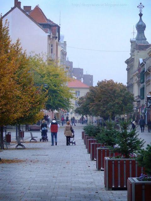 Autumn on the Main Square Szombathely
