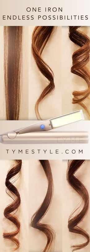 One Iron creates any type of curl & straightens! Get everything from messy beach waves to perfectly done curls in a matter of minutes!