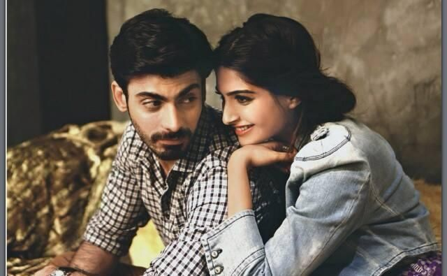 Sonam and Fawad pose for an amazing photoshoot