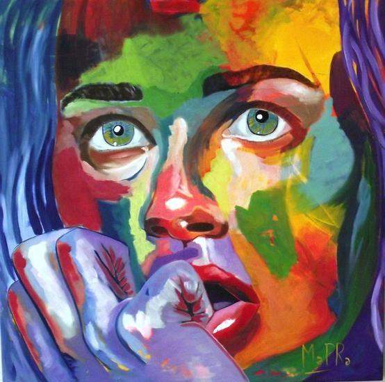 Ma PRa-tristeza-esta es una pintura que me transmite bastante,en concreto y como su titulo dice parece que la protagonista del cuadro parece estar pensativa,puede ver también como tienen la mirada perdida.el cuadro utiliza tonos cálidos.