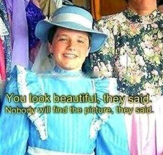 Josh Hutcherson in a dress...lol