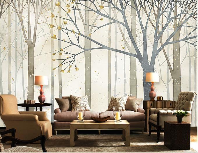 3d обои настроить 3d обои для стен 3 d фото обои лес ТВ стены 3d росписи обоев