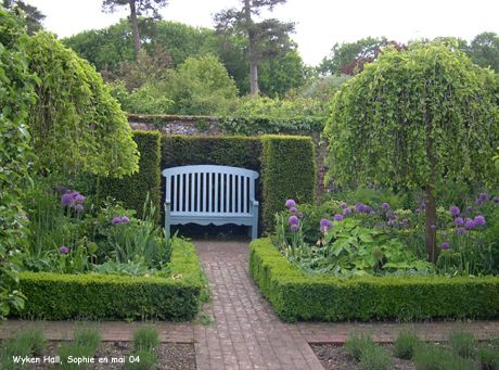 Wyken Hall: le jardin brodé