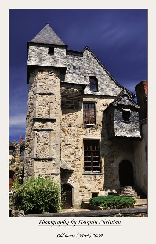 Manoir breton - Vitre, Bretagne