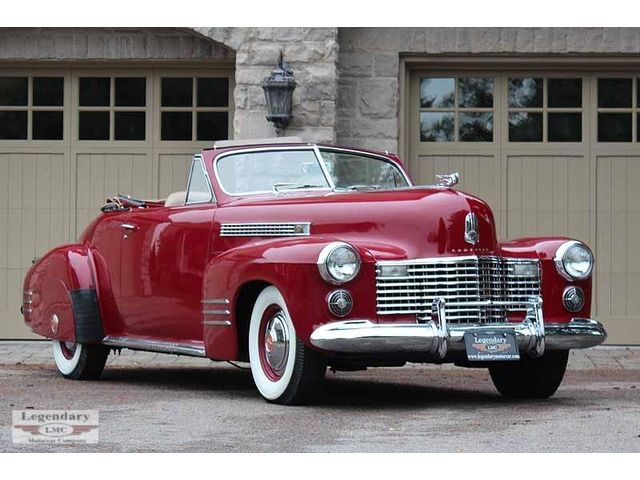 Red Lady, 1941 Cadillac Series 62 Convertible