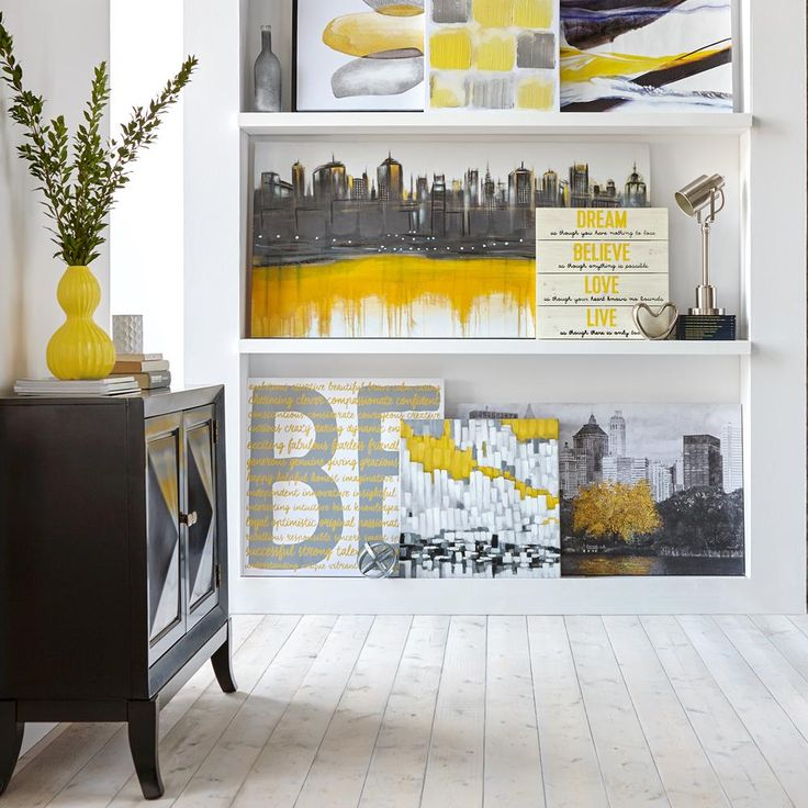 Canvas - Yellow Tree