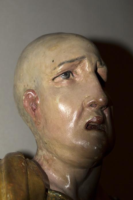 Patriarca. Retablo de San Benito el Real. Alonso Berruguete. Siglo XVI