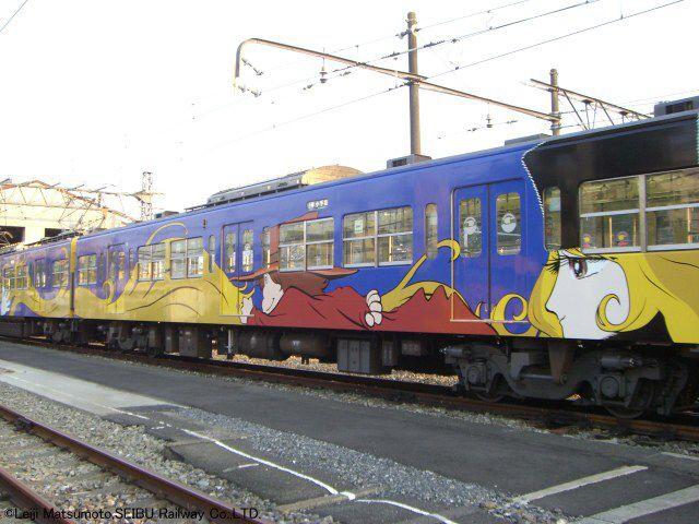 西武鉄道・3000系 銀河鉄道999 フルラッピング電車
