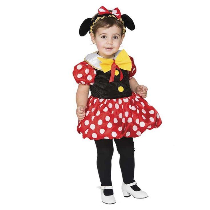Comprar Disfraz infantil de Ratita Minnie. Disfraz de ratita que recuerda al famoso personaje de Disney Minnie. Este disfraz no puede falta en las representaciones escolares debido a su gran éxito entre los mas peques de la casa. Es un disfraz además de vistoso muy económico en definitiva es una buena elección. ¡ te esperamos en disfracestuyyo.com !