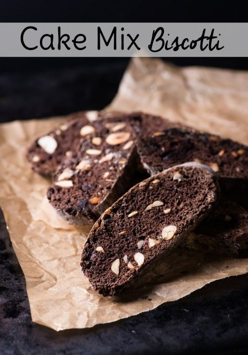 Use a cake mix to make this easy biscotti recipe for dessert or to serve with coffee. Chocolate biscotti, almond biscotti...the possibilities are as endless as cake mixes!