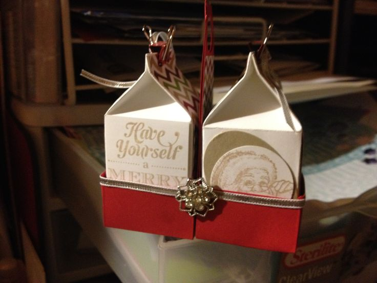 This will be made at my next stamp club.  Mini milk carton  Go to www.debrawayman.stampinup.net.au To join the fun